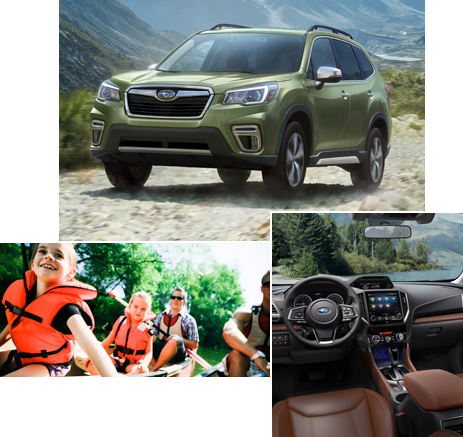 Subaru utility vehicles