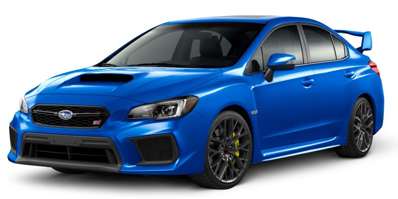 Subaru WRX STI Awards